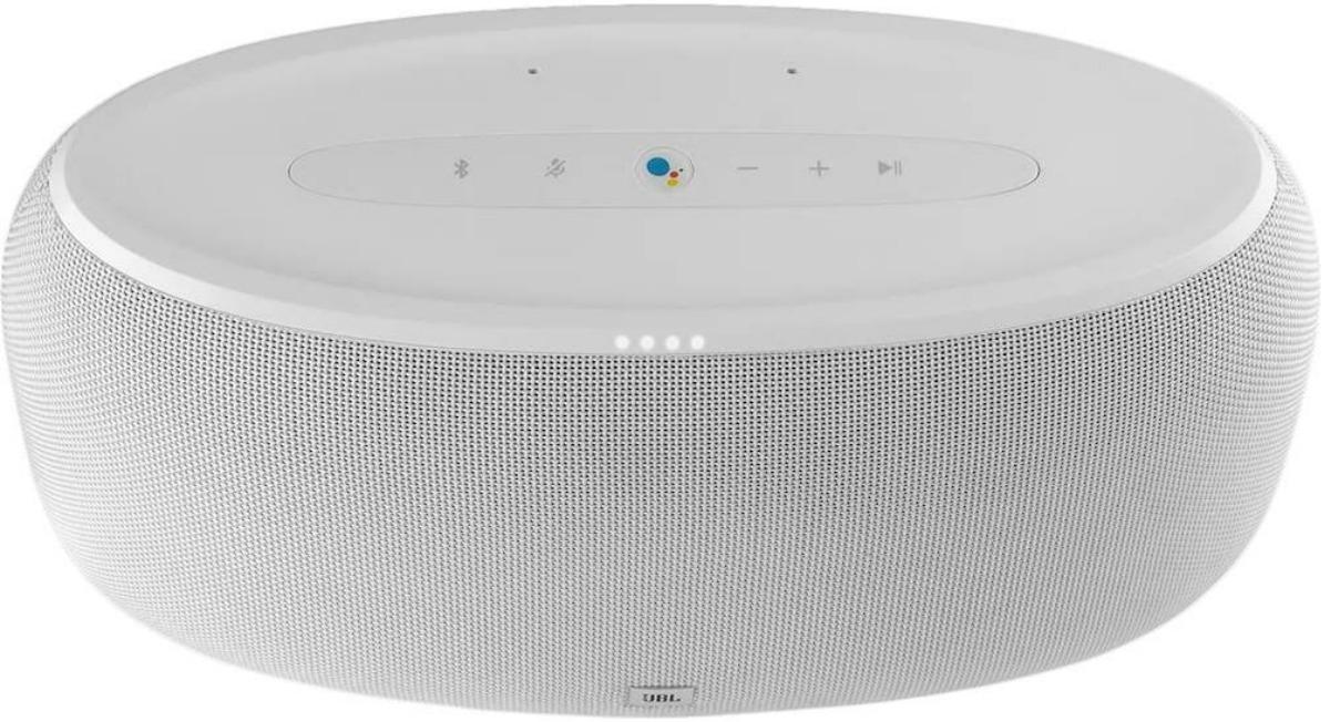Wireless speaker in white - top view