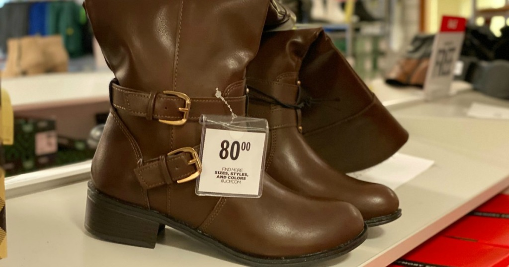 JCPenney Arizona Riding Boots