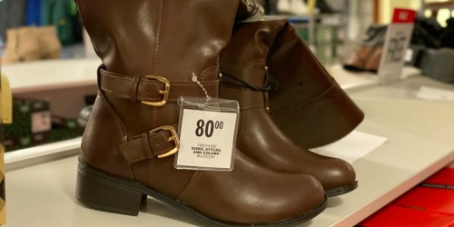 Buy 1 Pair of Boots & Get 2 FREE Pairs at JCPenney | Styles for the Entire Family