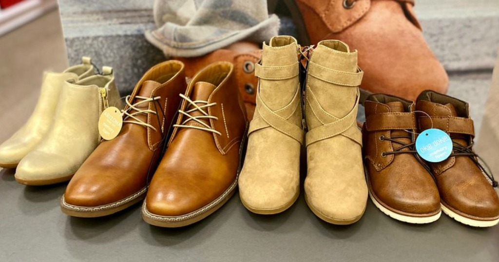 JCPenney Boots for the Family