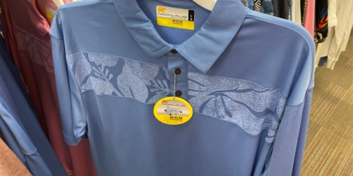 Jack Nicklaus Men's Polo Shirts Only $12.50 at Target (Regularly $24)