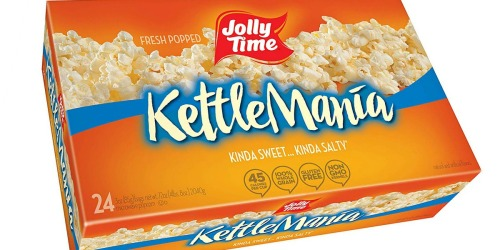 Jolly Time Kettle Popcorn 24-Count Box Just $5 Shipped at Amazon