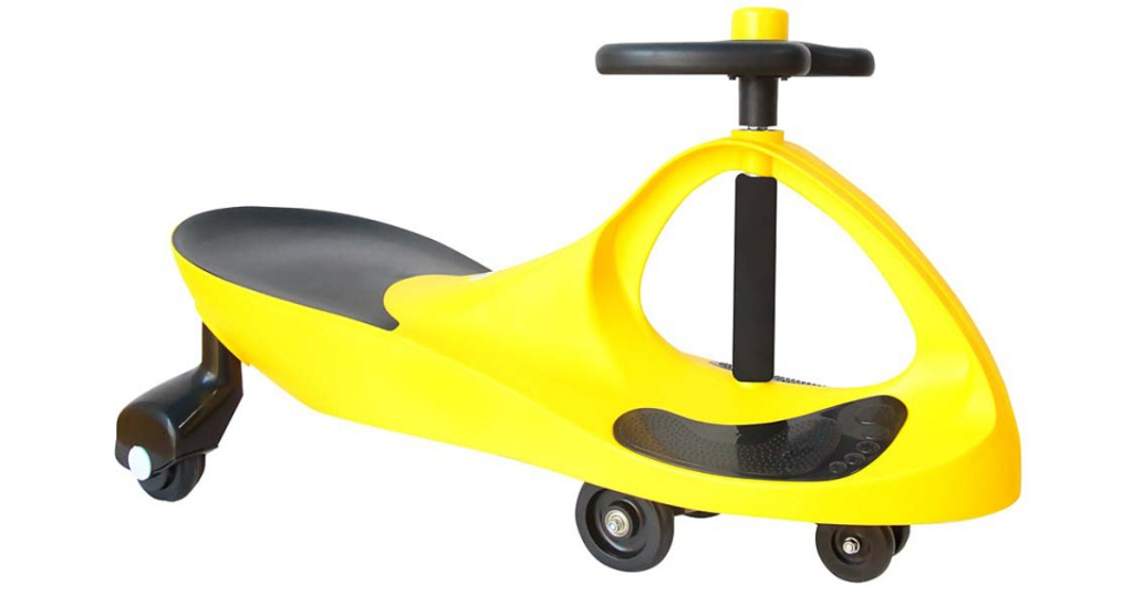 yellow joybay ride on toy