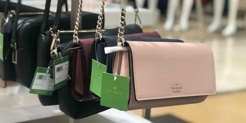 Up to 50% Off Kate Spade Handbags & Totes + FREE Shipping