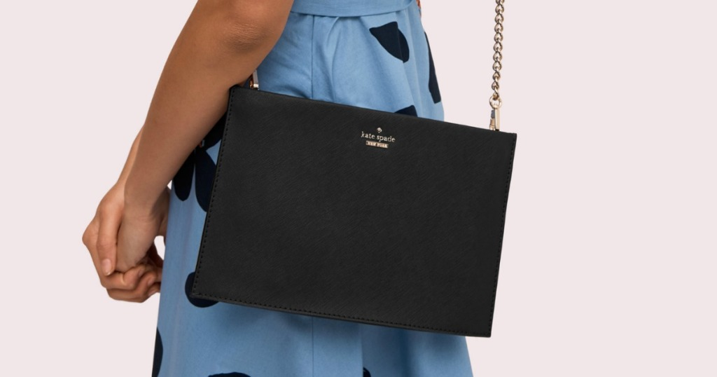 woman with Kate Spade Sima Crossbody
