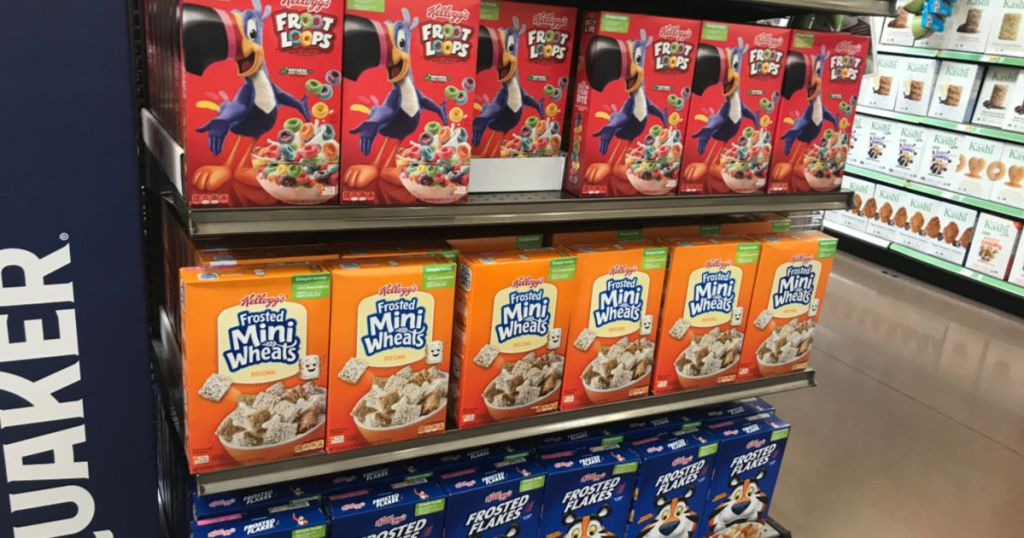 Kelloggs Cereal in Kroger