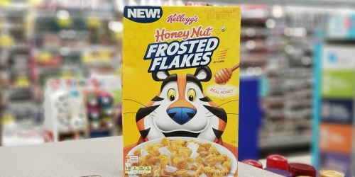 Kellogg's Cereals Only 32¢ Each After Cash Back at Walgreens