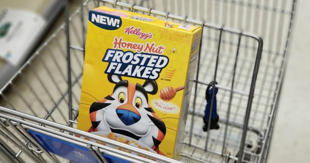 kellogg's honey nut frosted flakes cereal at walgreens