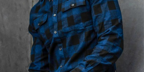 Kenneth Cole Flannel Shirt Only $12.75 Shipped