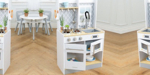 KidKraft Let's Cook Wooden Play Kitchen Only $79.99 Shipped + Earn Kohl's Cash