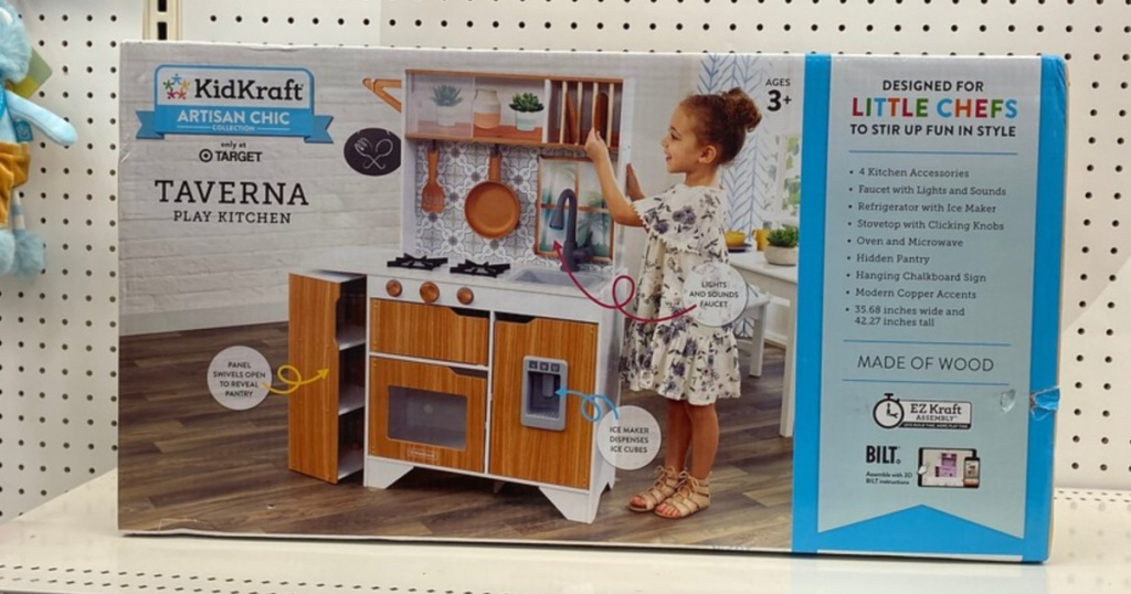 KidKraft Taverna Play Kitchen in box