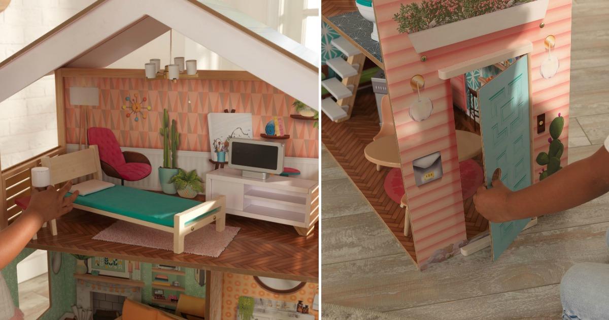 kidkraft dollhouse interior