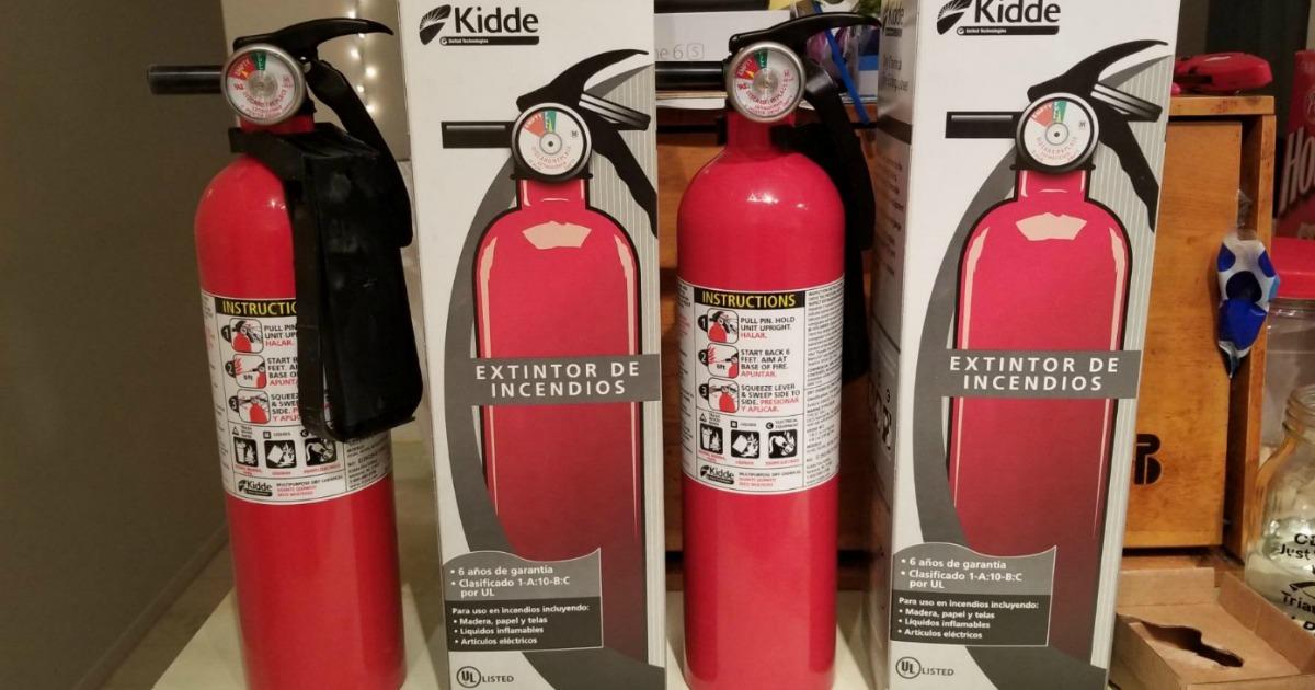 kidde home fire extinguishers