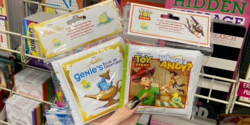 Kids Bath Books Only $1 at Dollar Tree   Toy Story, Sesame Street & More