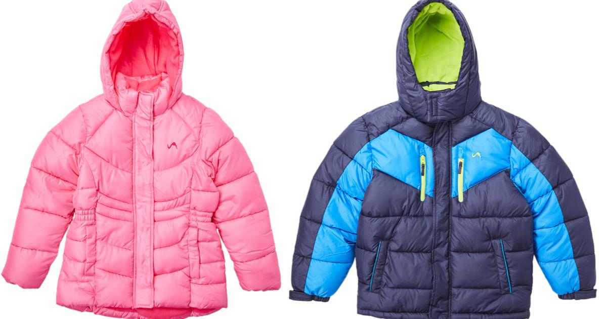 two kids winter coats