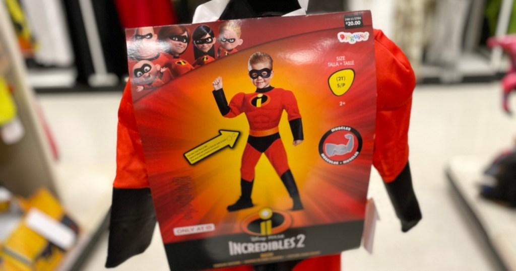 kids incredibles costume at target