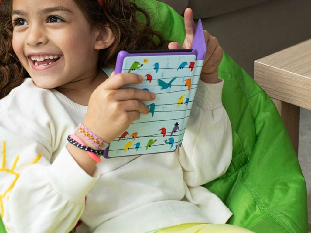 Kindle Kids Edition with Birds Cover