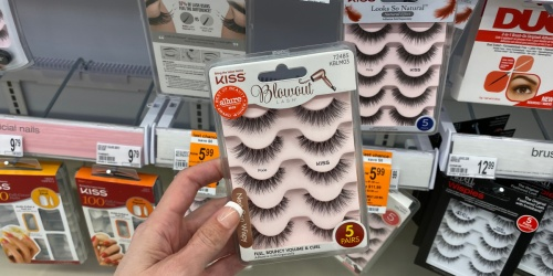 50% Off Kiss False Lashes Sets at Walgreens | No Coupons Needed