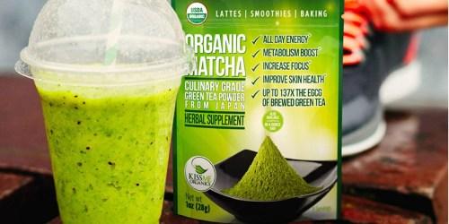 Kiss Me Organics Organic Matcha Green Tea Powder Only $7.99 Shipped at Amazon
