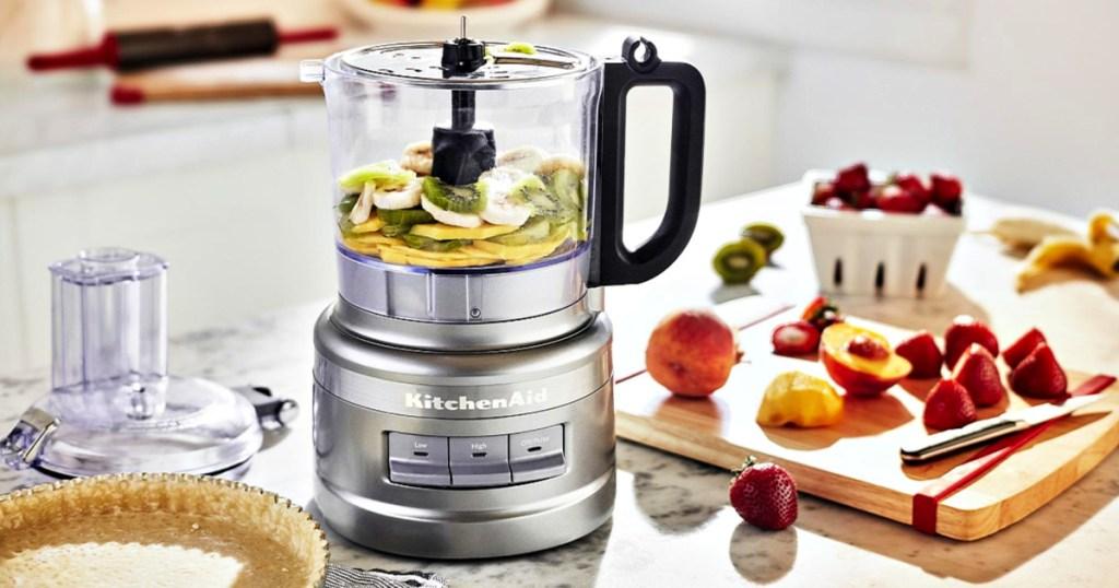 KitchenAid 7 Cup Contour Silver Food Processor