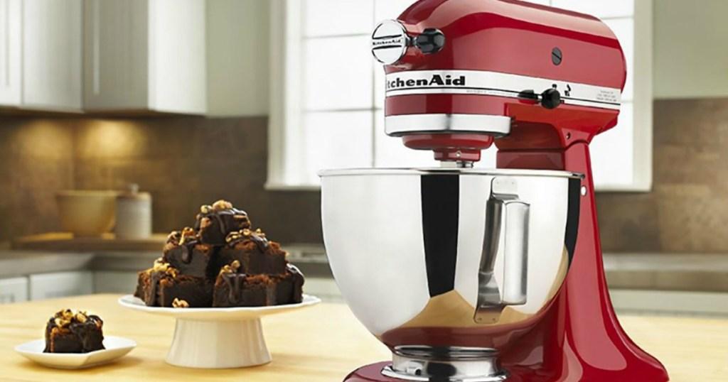 KitchenAid Mixer on counter