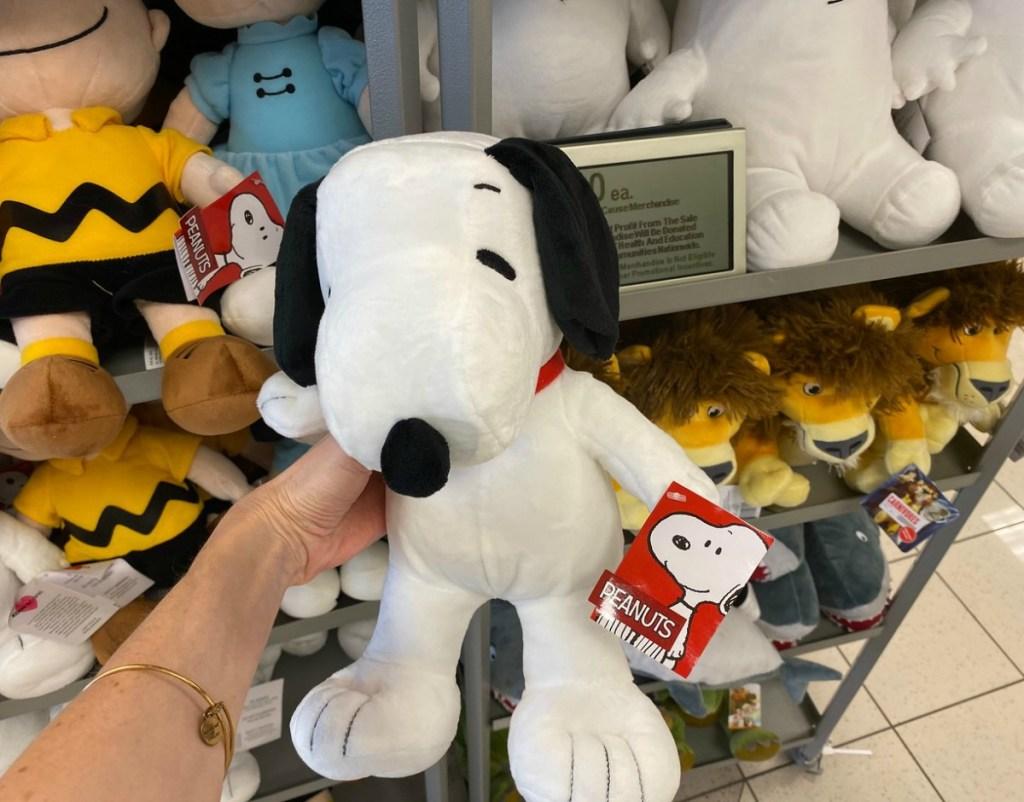 Kohl's Cares Snoopy plush toy
