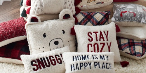 Kohl's Cuddl Duds Throw Pillows as Low as $8.84 Each Shipped (Regularly $30)