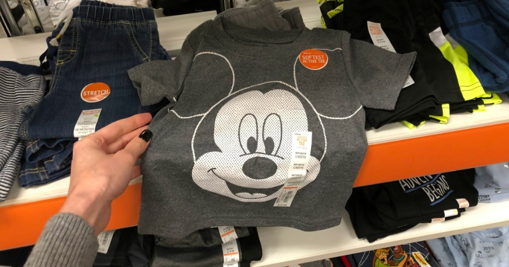 Disney Mickey Tee at Kohl's
