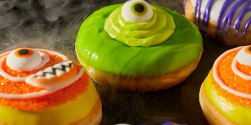 FREE Krispy Kreme Monster Doughnut on October 31st | Wear Your Costume