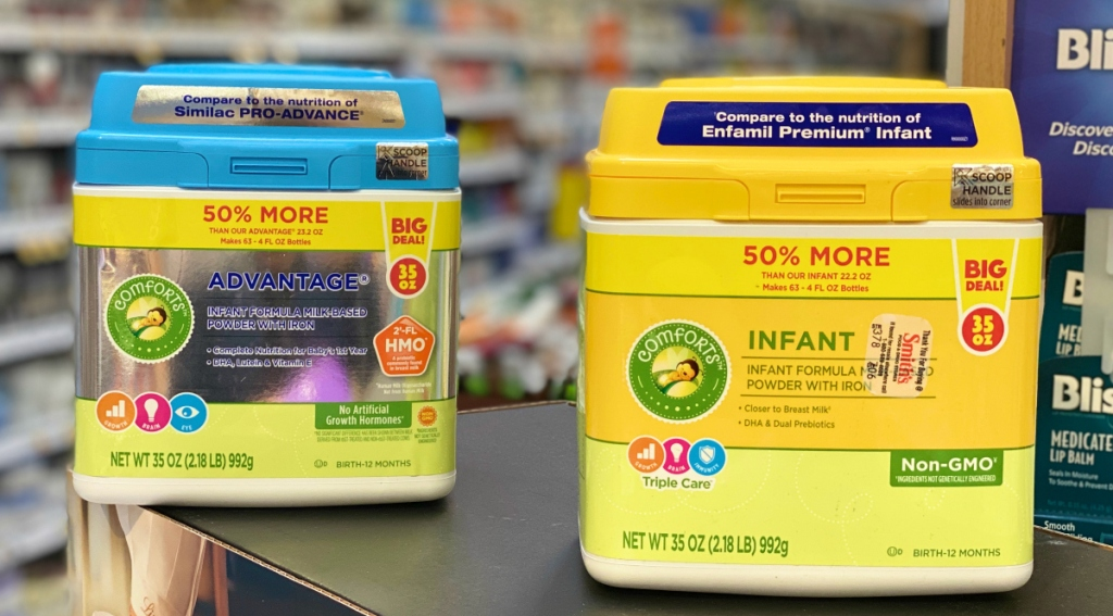 Kroger Infant and Advantage formula