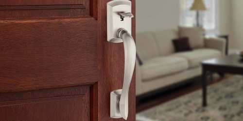 Up to 35% Off Kwikset Door Handles & Electronic Locks at The Home Depot + FREE Shipping
