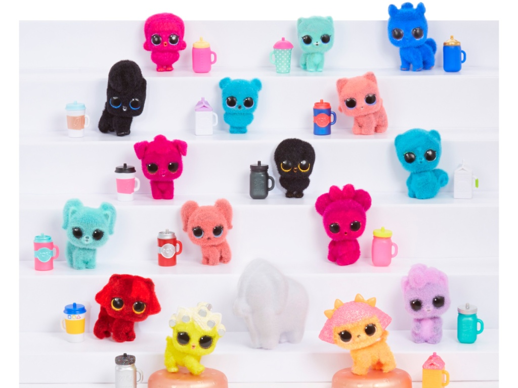 L.O.L. Surprise! Fuzzy Pets with Washable Fuzz & Water Surprises