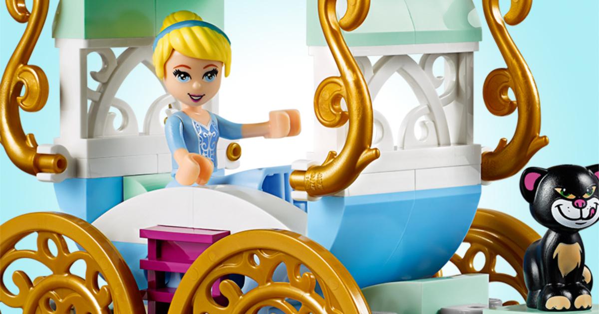 lego cinderella carriage kit figures