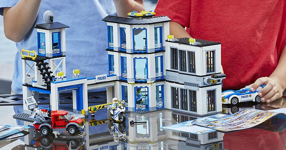 Lego City Police Station Set Just 64 99 Shipped Regularly 100