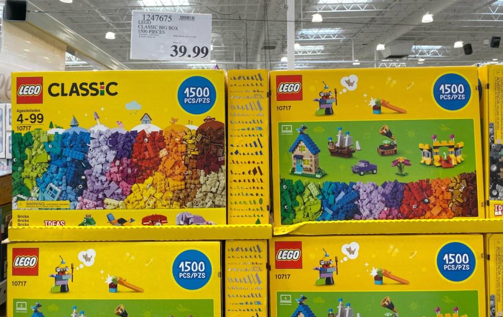 LEGO Classic 1,500 pieces