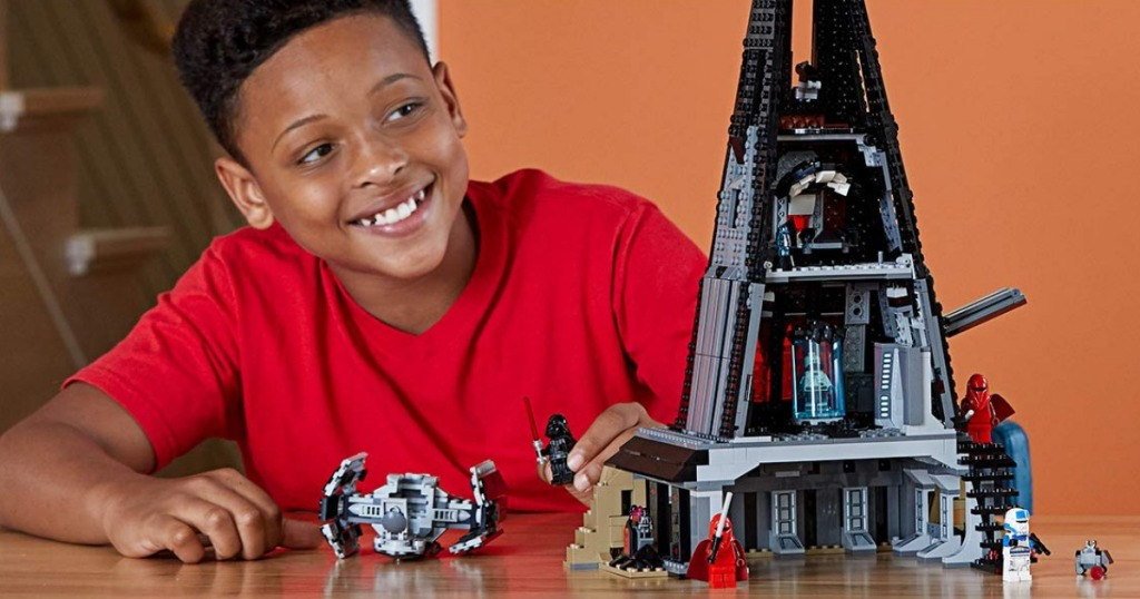 LEGO Darth Vader Castle