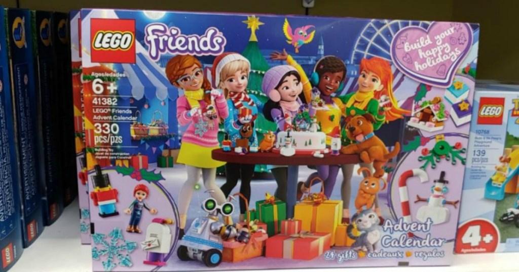 LEGO Friends Advent Calendar box in-store