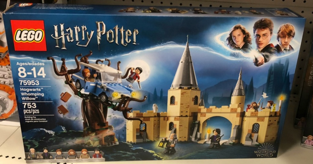 LEGO Harry Potter Whomping Willow set