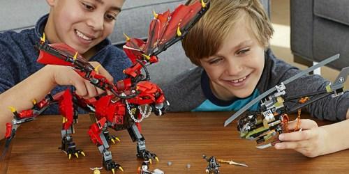 Up to 50% Off LEGO Star Wars, Ninjago & More Building Sets
