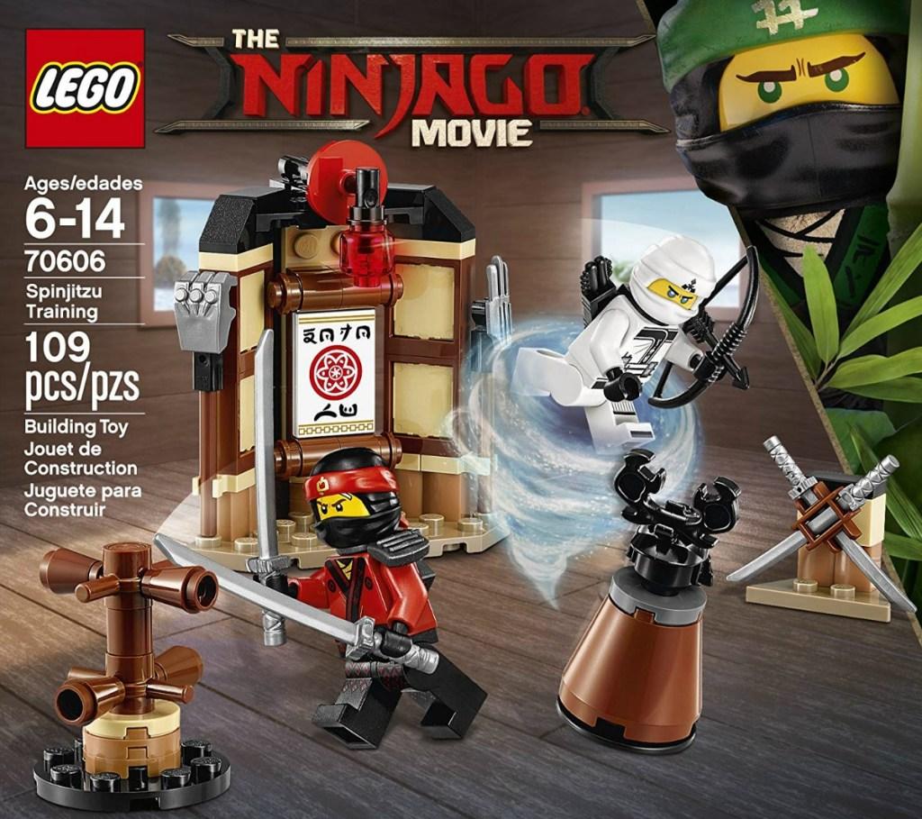 LEGO Ninjago Movie Spinjitzu Training Building Set