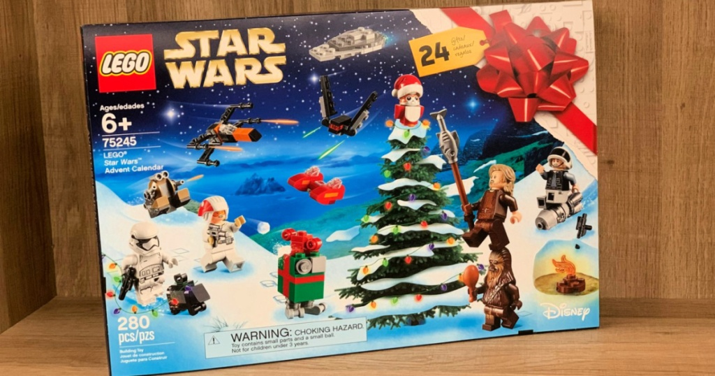 LEGO Star Wars 2019 Advent Calendar Building Kit with Star Wars Minifigure Characters