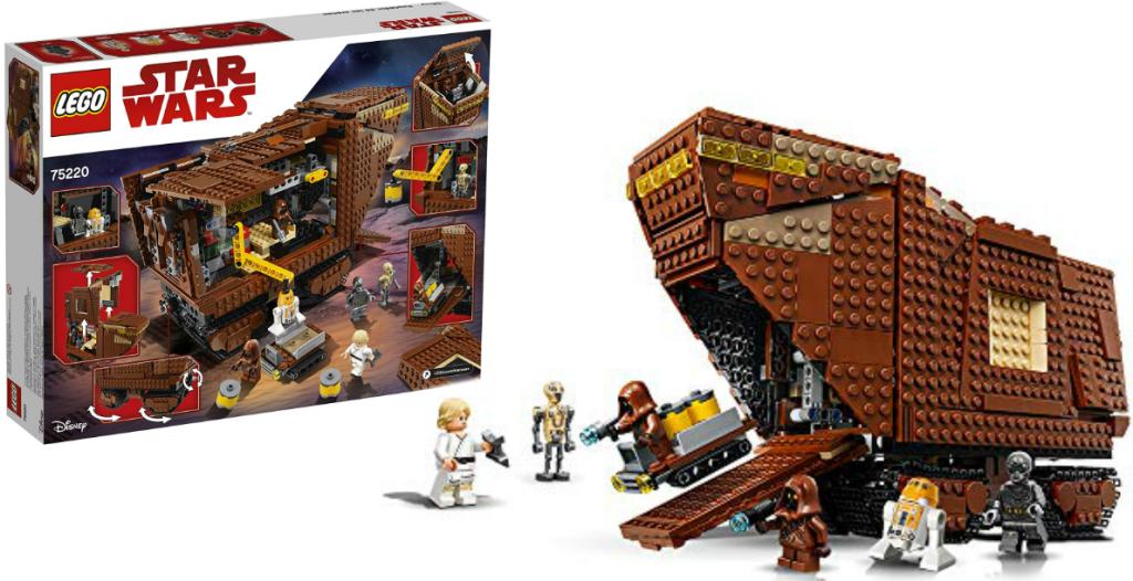 LEGO Star Wars Sandcrawler building set