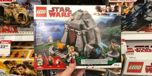 LEGO Star Wars Ahch-To Island Training Set Only $17.48 (Regularly $30) + More