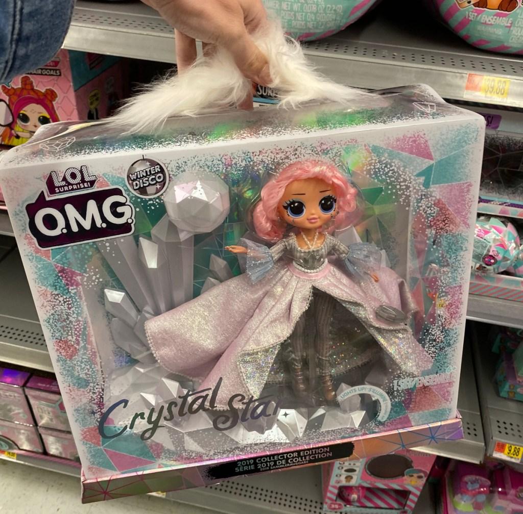 LOL OMG Crystal Star doll