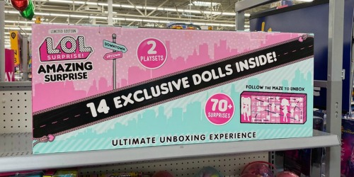 L.O.L. Surprise! Amazing Surprise Just $80.99 Shipped at Target (Regularly $120) | Includes 14 Dolls & 70+ Surprises