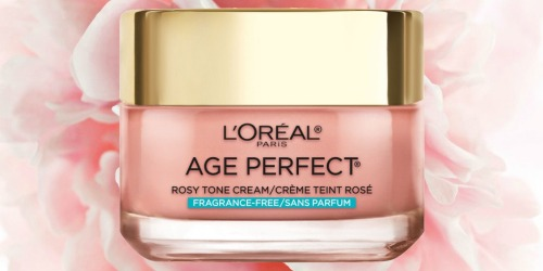 L'Oréal Paris Rosy Tone Face Moisturizer Only $7.37 at Target (Regularly $16)