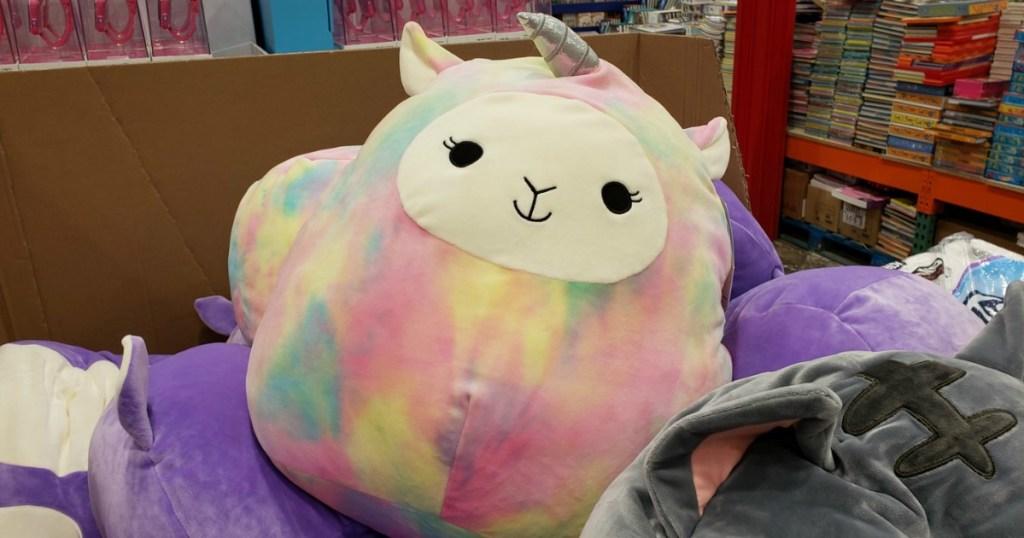 Unicorn Llama large squishy plush toy