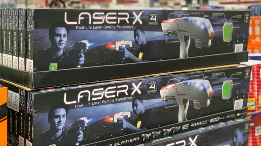 Laser X 4-Blasters