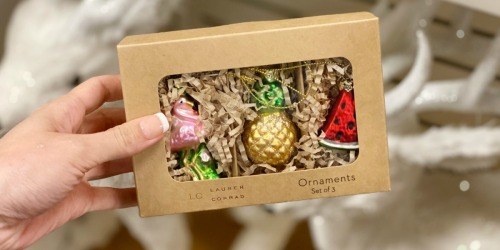 Up to 40% Off Lauren Conrad Holiday Ornaments at Kohl's