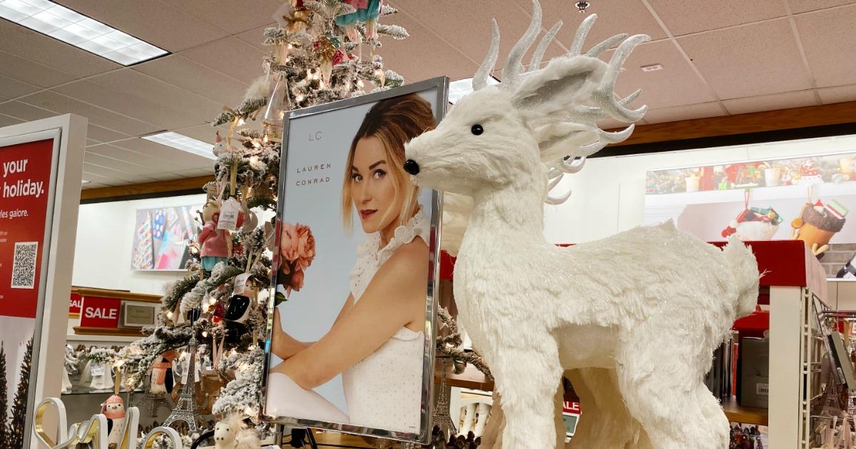 Lauren Conrad Reindeer on display at Kohl's
